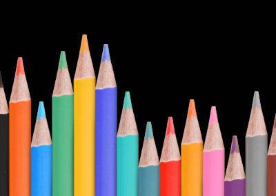 Hintergrund Bleistifte