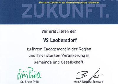 Schule Leben Zukunft VS Leobersdorf